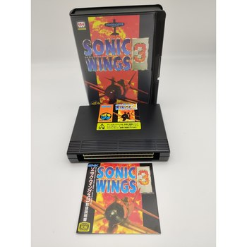 SONIC WINGS 3 CONVERSION JAPAN VERSION NEO GEO AES