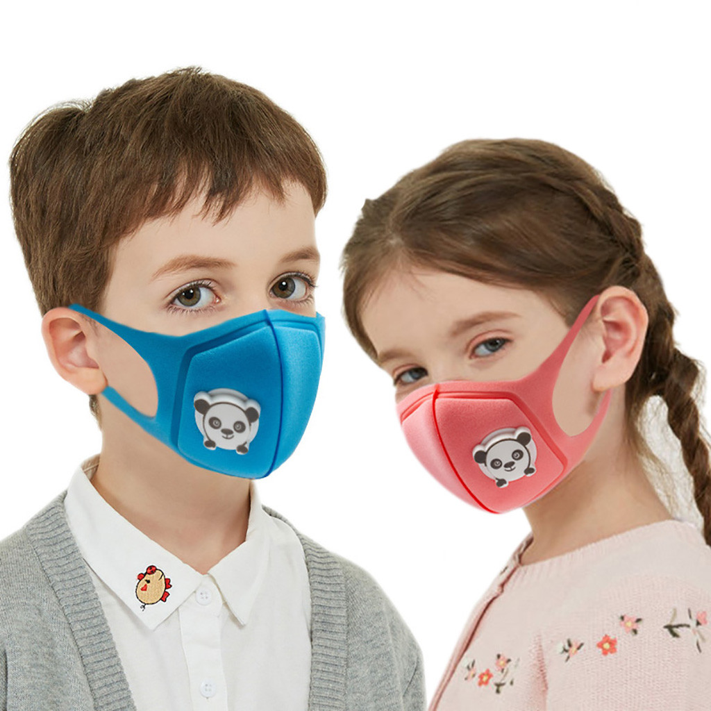 4PC Children Mouth Maske , Dustproof Kids Face Maske , Washable And Reusable Student Baby Cute Animal Patern Mouth Maske Cover
