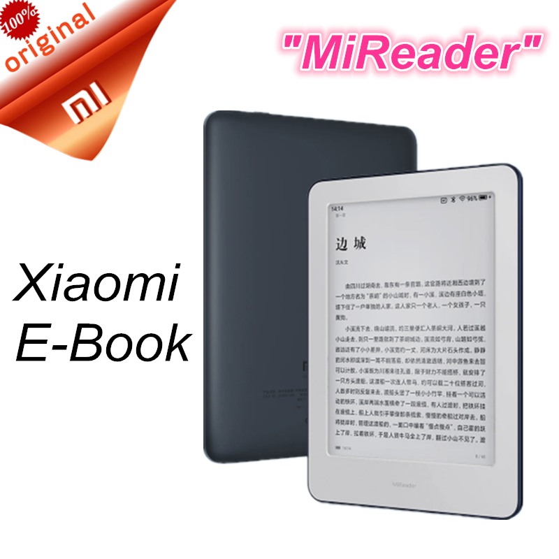 Xiaomi Ebook-Reader Touch-Screen E-Ink Built-In-Light Front-Backlight Wifi-16gb Memory title=