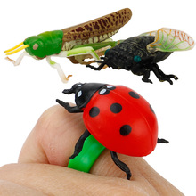 Children Plastic Toy Early Education Cognition Model Simulation Insect Animal World Decoration Sand Table Scene Study Class Toys все цены