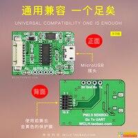 G7 g10 laser pm2.5 sensor adaptador placa serial para usb pms7003