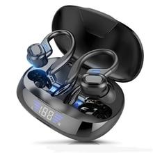 Cuffie Wireless TWS Bluetooth 5.0 per Smartphone sport in esecuzione cuffie Stereo HiFi con microfono per IOS Android Mobile