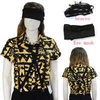 Erwachsene Frauen Mädchen Fremden Dinge 3 Elf Cosplay Kostüm EL Cosplay Hemd Halloween Karneval Party Requisiten T-Shirt Headwear
