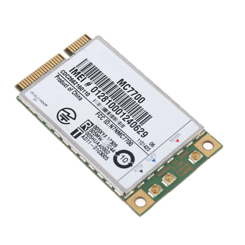 Mini PCI-E 3G/4G WWAN GPS Module MC7700 PCI Express 3G HSPA LTE Wireless Card(China)