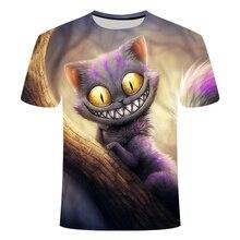 New endearingly Ragdoll t-shirt 3d Funny felid Cat T Shirt Print felid Animal T-shirt Casual Mens  Fighting Cat clothing Tops