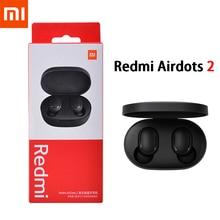 Bluetooth-5.0 Earphone Headset Airdots Xiaomi Redmi Earbuds Stereo-Bass Handsfree Wireless