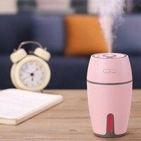 Usb 가습기 공기 청정기 아로마 디퓨저 변경 조명 사무실 여행 홈 차량 핑크|가습기|   -