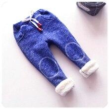Теплые штаны для девочек, зимние эластичные повседневные штаны для новорожденных девочек, осенние спортивные штаны для малышей, одежда для малышей
