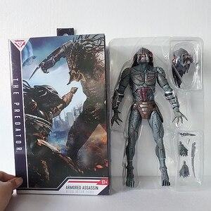 Em estoque 10 polegada 25cm neca assassino blindado predador final desmascarado figura de ação modelo brinquedos boneca para o presente