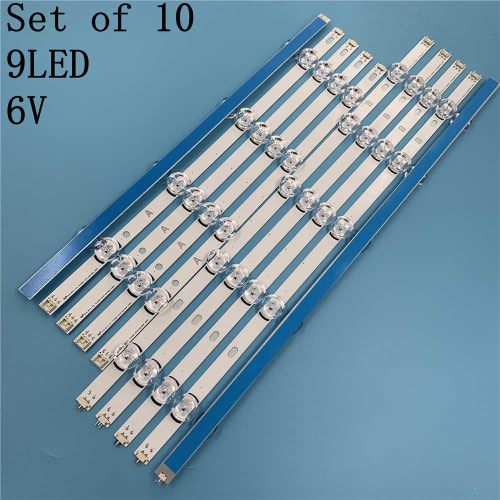 Nuevo 10 unids/set LED A lg con tira de reemplazo para LG 49LB5500 LC490DUE Innotek DRT 3,0 49 B 6916L-1788A 1789A 1944A 1945A