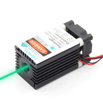 12V 505nm 80mW Green Laser Diode Module DIY Laser Head Fixed Focus TTL Modulation Support PWM Powe