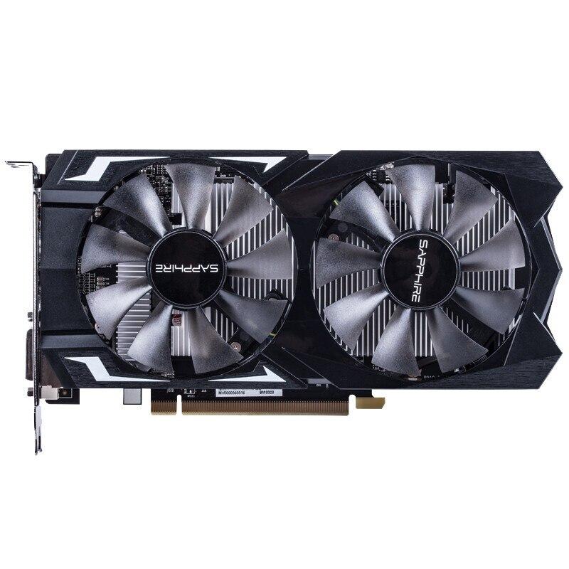 Utilisé, saphir Radeon Rx560 4Gb Gddr5 Pci Express 3.0 Directx12 carte graphique de jeu vidéo carte graphique externe pour bureau