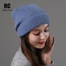 [Rancyword] Knitted Beanie Hat for Women Autumn Winter High Quality Soft Warm Skullies Hats Girls bonnet  RC2069