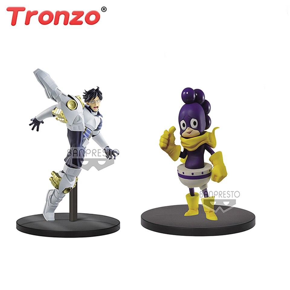 Tronzo original banpresto meu herói academia idade de heros faraó yaoyorozu momo creaty & deku figura figurals bonecas brinquedos