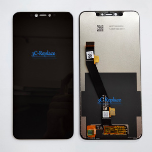 Image 2 - Black 6.2 inch For Lenovo S5 pro L58041 / For Lenovo S5 pro GT L58091 LCD DIsplay Touch Screen Digitizer Assembly Replacement