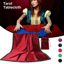 Tarot Tablecloth Astrology Embroidered Tarot Table Cloth Table Cover With Tarot Pouch(China)