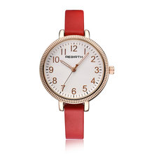 Elegant Casual Women Watches Numerals Dial Fashion Lady Quartz Clock Leather Strap Dress Business Party Girls Gift Wristwatch(China)