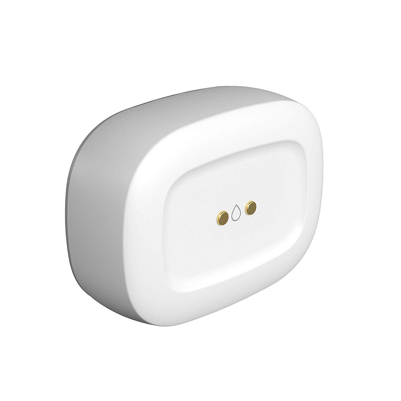 Smart Things Water Leak Sensor - Automate Lights Siren For Alert ZigBee Accessory to Smart Things Hub White
