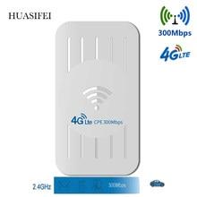 Wi-fi router con tarjeta sim impermeable al aire libre 4G CPE router 3000Mbps CAT4 LTE router adecuado para la cobertura más allá de IP cámara/WIFI