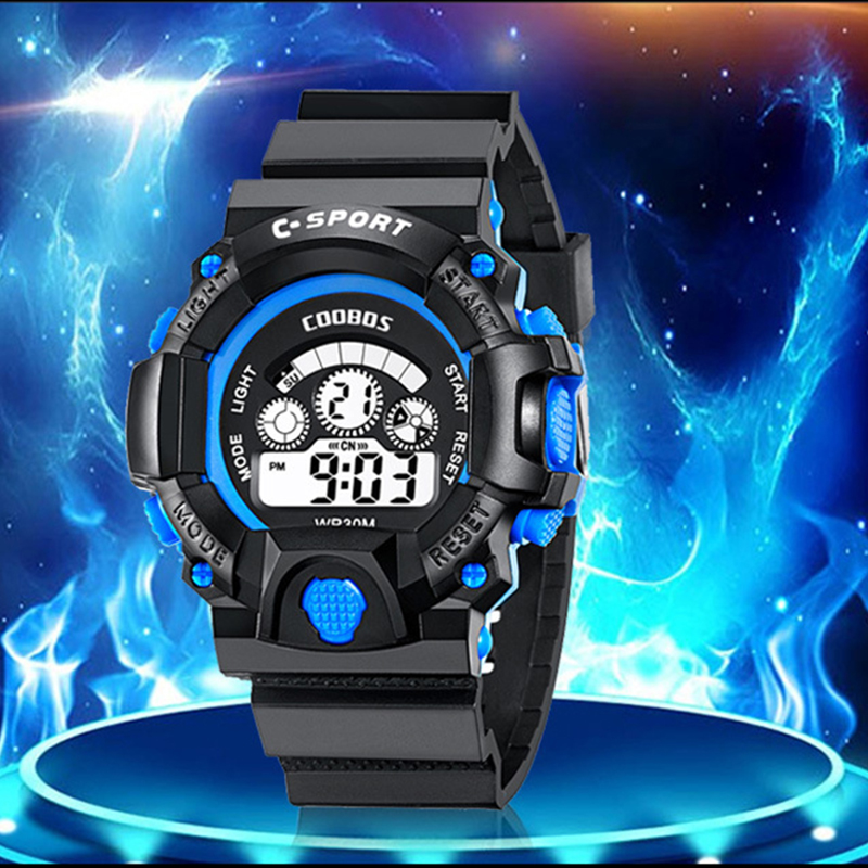Reloj Infantil Fashion Children's Wristwatch LED Digital Sports Watch For Boys Girls Silicone Waterproof Clocks Relogio Infantil