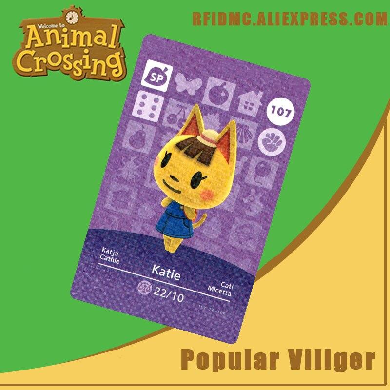 107 Katie Animal Crossing Card Amiibo For New Horizons