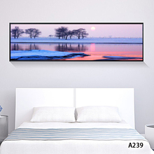 Abstract Oil Painting Print on Canvas Seascape Sunrise Landscape Canvas Art Print Canvas Painting Wall Art Picture for HomeDecor selflessly wall impressionism monet wild poppy field sunrise landscape canvas painting art print poster picture painting