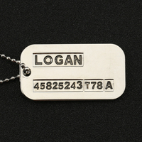 X-Men Origins Wolverine Logan ID Necklace Pendant 5