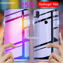 25D Full hydrogel film for meizu Note9 Front+Back soft screen protector note6 Anti-knock ultra thin Note8