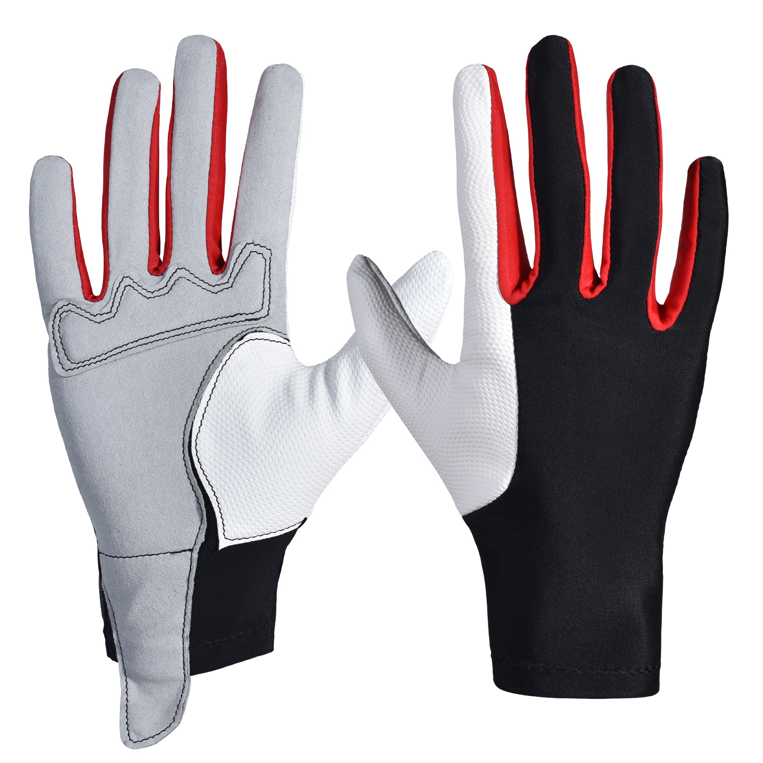 Professional Horse Riding Gloves Comfortable Men Women Equestrian Horseback Riding Gloves For Competition Trail Riding Training