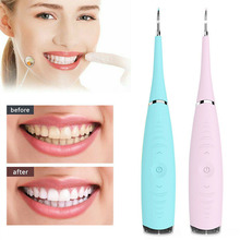 Cleaner Tooth Dental Sonic Scaler Tartar-Tool Calculus-Remover Whiten Stains Electric