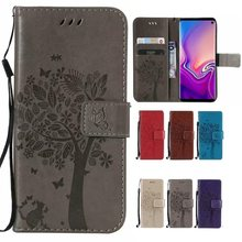 Case TOP Kwaliteit flip PU Leather Cover Kat Portemonnee voor Fly Fly FS518 FS517 FS510 FS516 FS514 FS512 FS511 FS508(China)