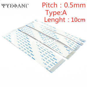 5PCS Flat flexible cable FFC FPC LCD cable AWM 20624 80C 60V VW-1 FFC 0.5MM 10cm Length 4/6/8/10/12/14/16/18/20/24/26/30-60 Pin(China)