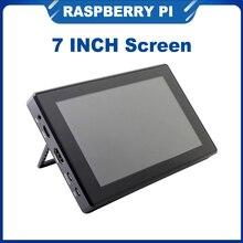 ITINIT R37 7 дюймов Raspberry Pi 4B/3B +/3B сенсорный Экран 1024x600 IPS ЖК-дисплей Дисплей меню Совместимость Jetson Nano портативных ПК