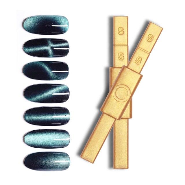 1 Pc Gold Magnetic Stick Multi-function Magnet Stick for Cat Eye UV Gel Polish Nail Art ToolsNail Art ToolsNail Art ToolsNail Ar 5