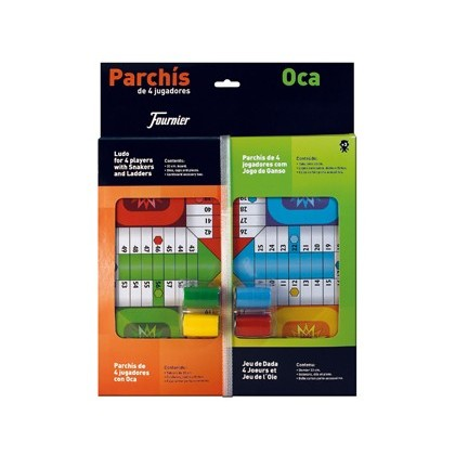 PARCHIS WITH Goose DASH SMALL 42,5X33X4,45X33X4,4