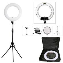 LED Ring Lights Lamp Kit with Tripod 96w 3200K 5500K Bi color Yidoblo FD 480II 18in Makeup Studio Light Photographic Lighting