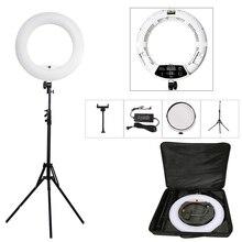 LED anneau lumières Kit de lampe avec trépied 96w 3200K 5500K bicolore Yidoblo FD 480II 18in maquillage Studio lumière éclairage photographique