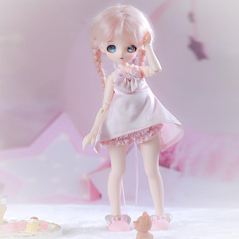 Shuga Фея Аня 1/6 BJD кукла аниме фигурка Смола игрушки для детей Сюрприз подарок для девочек день рождения полный набор аксессуаров 3