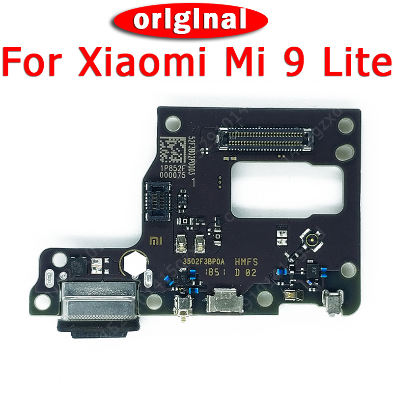 Original Charging Port For Xiaomi Mi 9 Lite Charging Board For Mi9 Lite USB Plug PCB Dock Connector Flex Cable Spare Parts