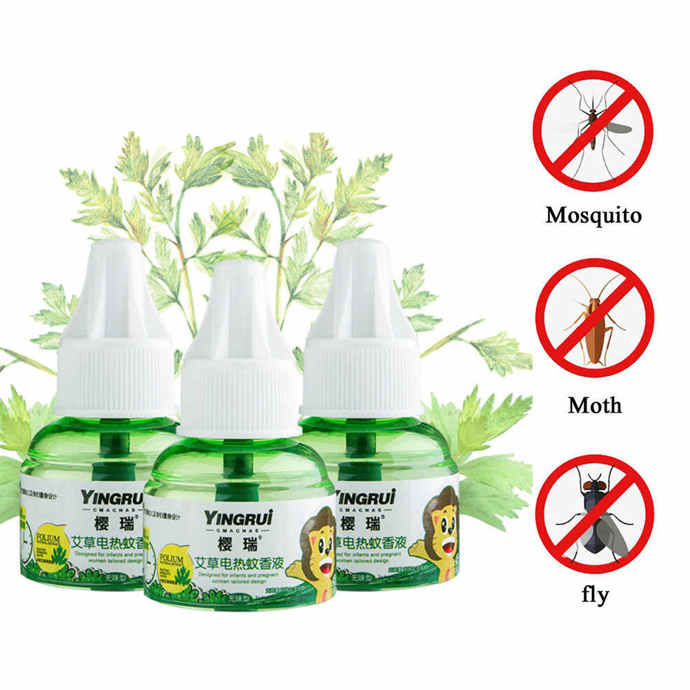 Jardim anti-mosquito reenchimento protetor repelente mosquito repelente elétrico líquido repelente fly swatter bug zappers 45ml # t1p