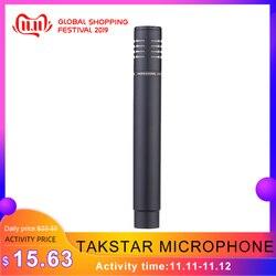 Takstar PCM-5400 microfone condensador instrumento portátil para pratos cordas de piano