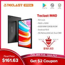 Teclast M40アンドロイド10タブレット1920 × 1200 10.1インチ4グラムネットワーク6ギガバイトのram 128ギガバイトrom unisoc t618オクタコアタブレットpcデュアル無線lanタイプc
