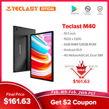 Teclast M40 Android 10 Tablet 1920x1200 10.1 cala sieć 4G 6GB RAM 128GB ROM UNISOC T618 Octa Core tablety PC Dual Wifi type-c