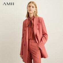 Amii primavera Minimal estilo occidental prendas de vestir exteriores pantalones cortos oficina profesional señoras chaqueta Mujeres Nuevo otoño ocio 11940584