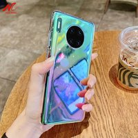 Funda de teléfono acrílico para Huawei Mate 30 40 Pro Huawei P40 Honor 30 30S 30Lite X10 Max Nova 7 8