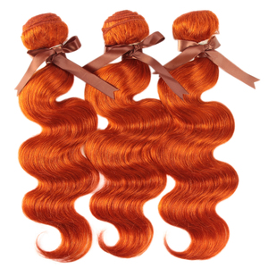 Image 5 - Remy Forte Body Wave Bundles With Closure Blonde Orange Remy Hair 3 4 Bundles With Closure Brazilian Hair Weave Bundles Fast USA
