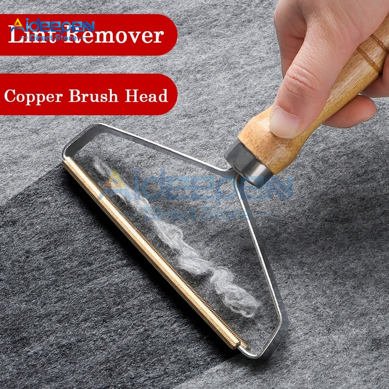 1Pcs Portable Lint Remover Clothes Fuzz Fabric Shaver Brush Tool Power-Free Fluff Removing Roller For Sweater Woven Coat