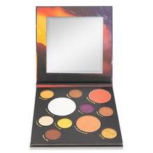 11 cores paleta da sombra brilho brilho pigmento duradouro matte comestics impermeável