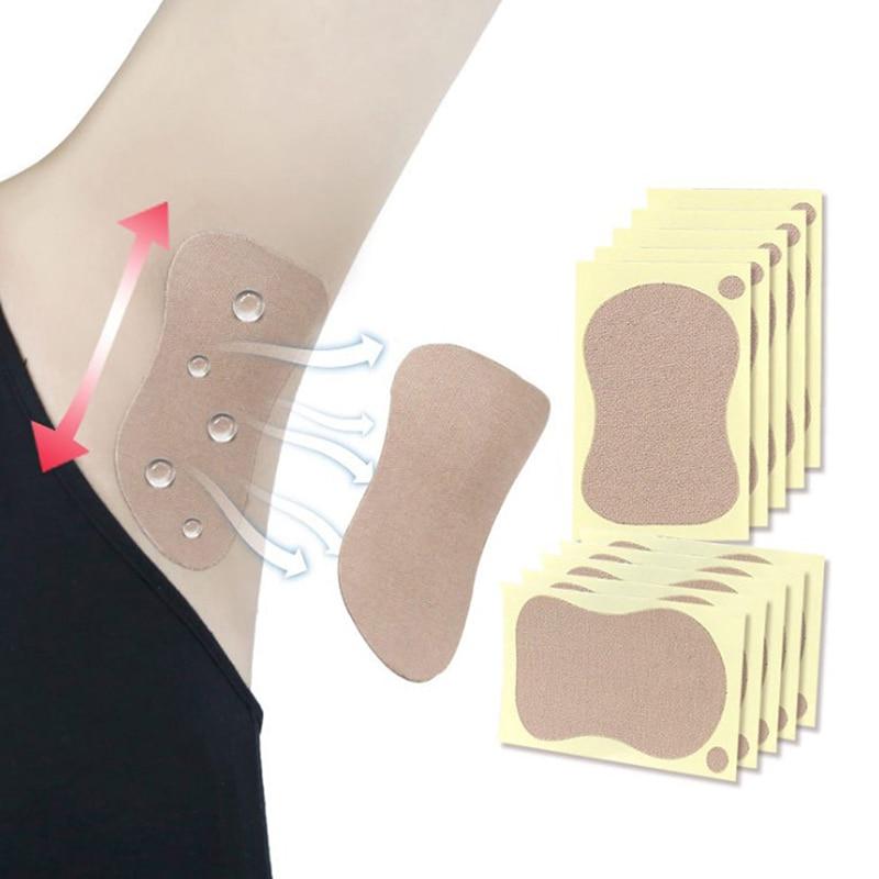 2/4pcs Sweat Pad Underarm Adhesive Sweat Pad Armpit Antiperspirant Deodorant Sweat-absorbent Stickers