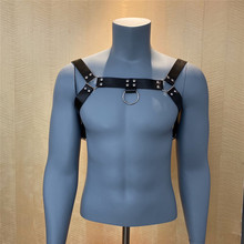 Fetish Men Chest Harness Belts with Buckle High Quality Leather Bondage Restrict Body Harness Strap Erotic Sex Toys for Men Gay